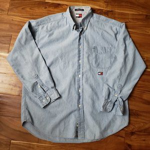 Tommy Hilfiger Jeans Button Up Shirt (T1)